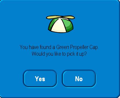 Green Propellor Cap '09 - Festival of Flight