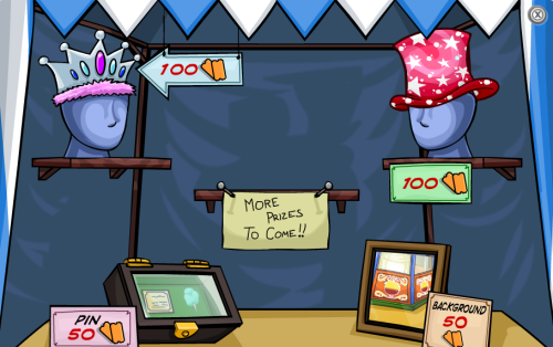 Prize Booth